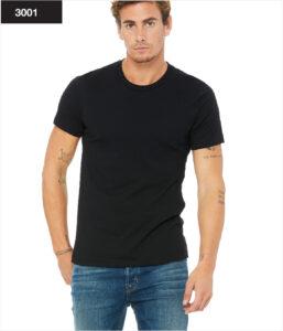 3001 Bella + Canvas - Unizes Fine Jersey Short-Sleeve T-Shirt