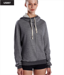 US897 US Blanks - Unisex French Terry Snorkel Pullover