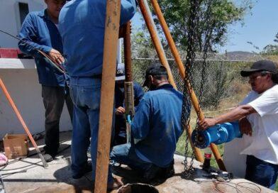 Refuerzan abastecimiento de agua potable en Cerro Agudo