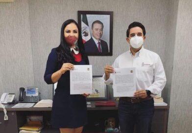 Firman convenio Ayuntamiento y SEDESOL por 22 millones de pesos en obras para Angostura