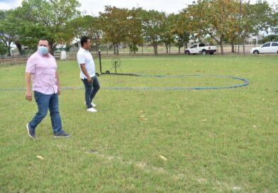 La Unidad Deportiva de Mocorito tendrá una cancha más con pasto