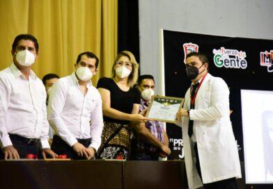 Jóvenes que han apoyado con el Covid-19 se llevan el Premio Municipal de la Juventud 2020