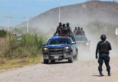 Ataca grupo armado base de la Policía Estatal en Navolato