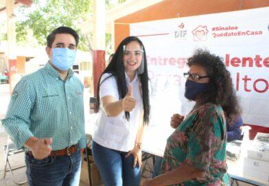 El Puerto de La Reforma, alberga la reactivación de las Jornadas de Apoyo Puro Sinaloa