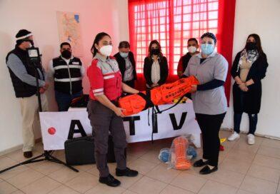 Recibe Protección Civil donativo de equipamiento