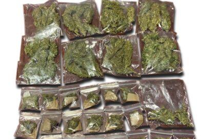 Dos menores detenidos con mariguana