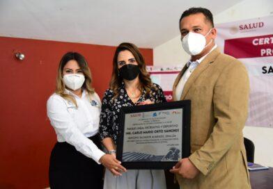 Reconocen a Salvador Alvarado como Municipio Promotor de la Salud