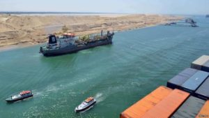 Suez Canal from BBC