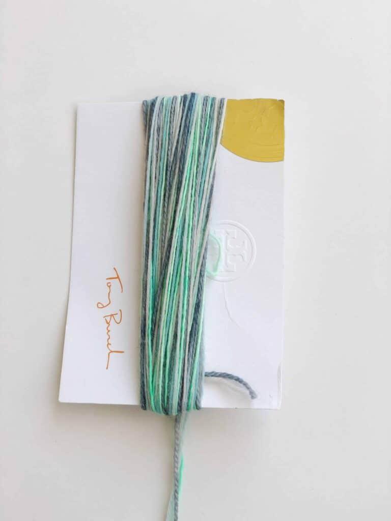 Yarn tassel how to