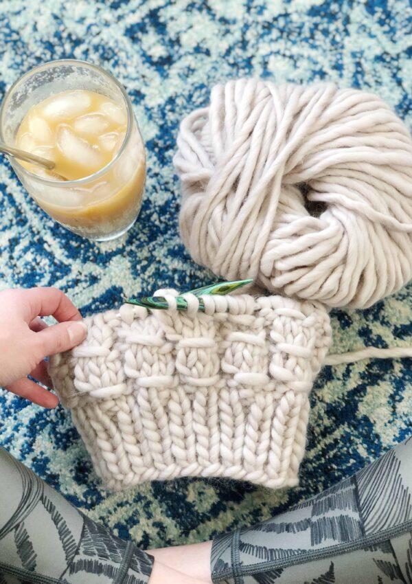 The Ladder Beanie Test Knit
