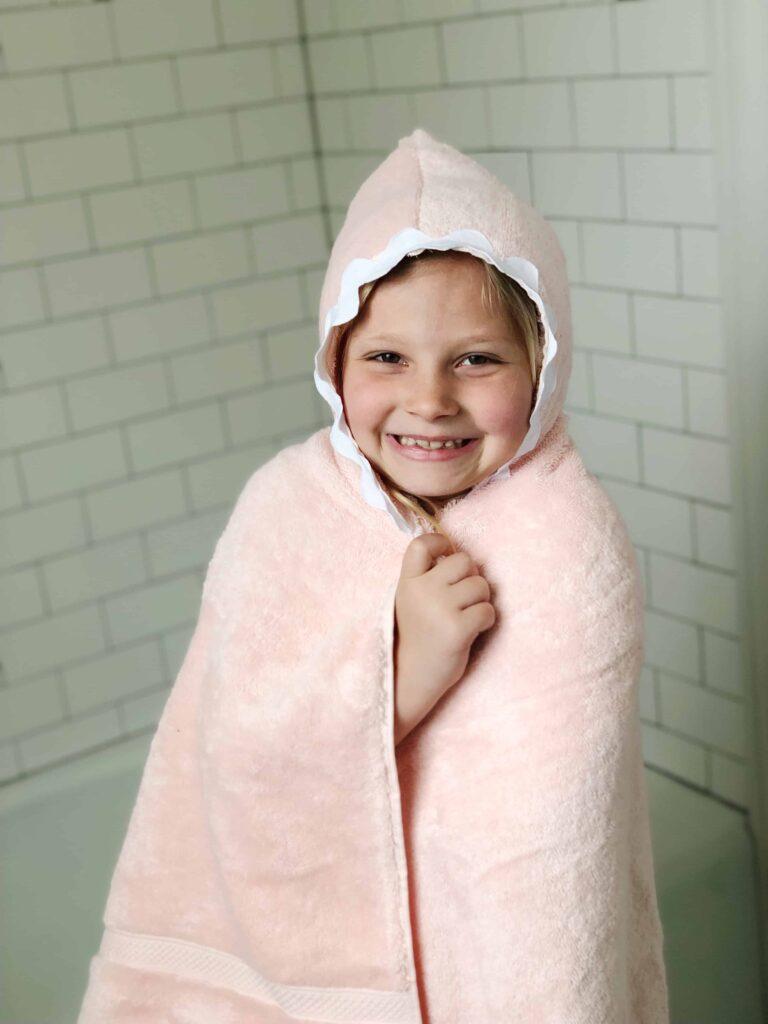DIY Hooded Towel for kids
