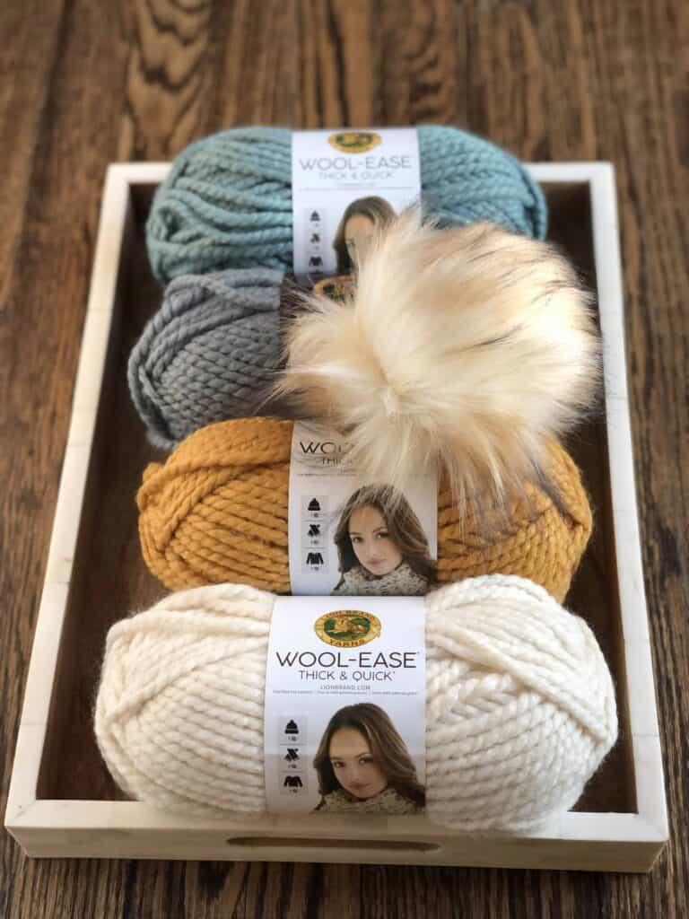 Chunky Fair Isle Hat Knitting Pattern