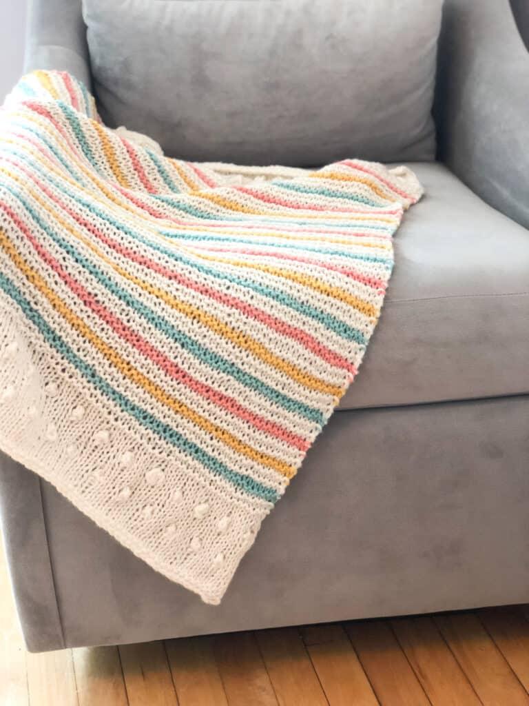 Free Baby Blanket Knitting Pattern