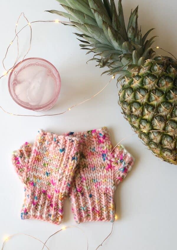 Rise Fingerless Mittens – Free Knitting Pattern
