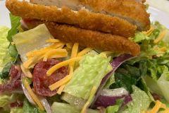 Honey-chicken-Salad-w-Crispy-Chicken