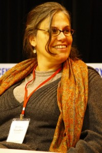 Jessica Handler (on a panel at the 2010 Oxford Creative Nonfiction Conference)