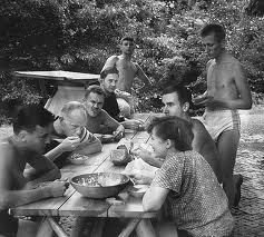 Handy Writers Colony, 1955