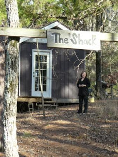 Daphne at The Shack for blog