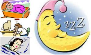 sleep collage