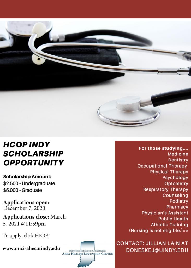 HCOP Scholarship announcement