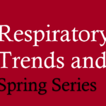 April Respiratory Spring Series Flyer banner