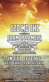 Farm Caramels 120 Indica-