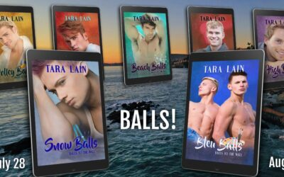 BLEU BALLS Released! Tara Lain's Twins are Double Trouble