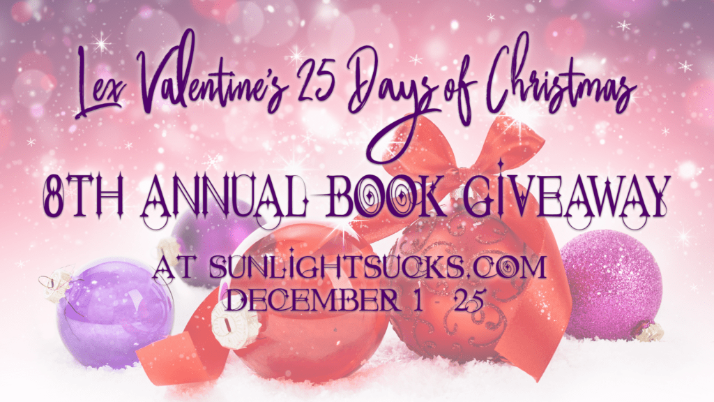 Win Tara Lain's Return of the Chauffeur's Son at Lex Valentine's 25 Days of Christmas Giveaway!