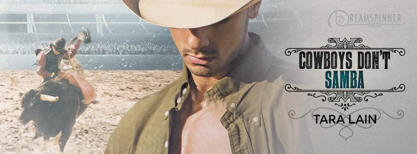 Cover Reveal & SALE! Cowboys Don't Samba by Tara Lain