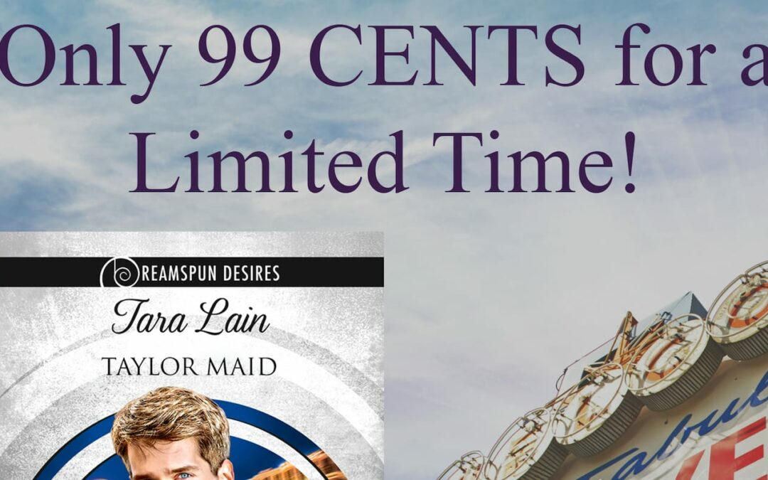 Dreamspinner Pride Promotion: Get Taylor Maid for only 99 cents!