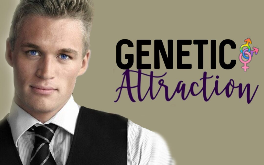Genetic Attraction Re-released! Tara Lain Does Ménage! #Giveaway!
