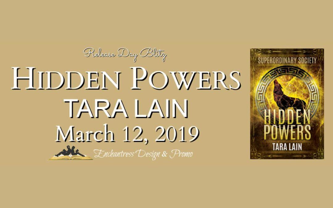 Hidden Powers New Release Giveaway