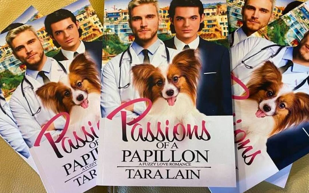 Passions of a Papillon in print! Yayyyy!