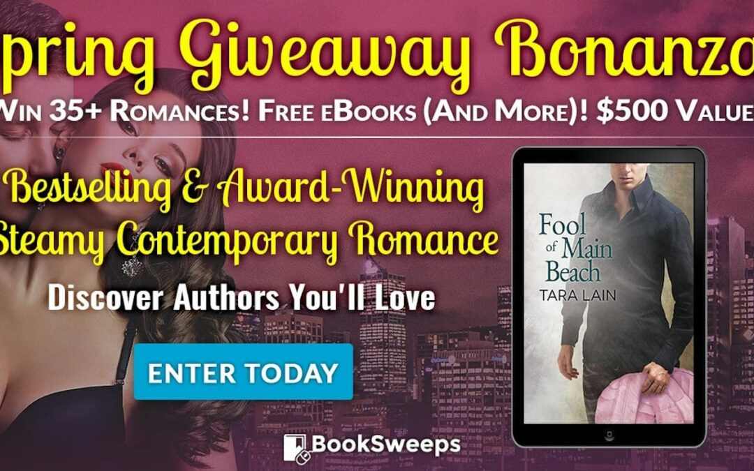 BookSweeps Spring Giveaway Bonanza including Fool of Main Beach!