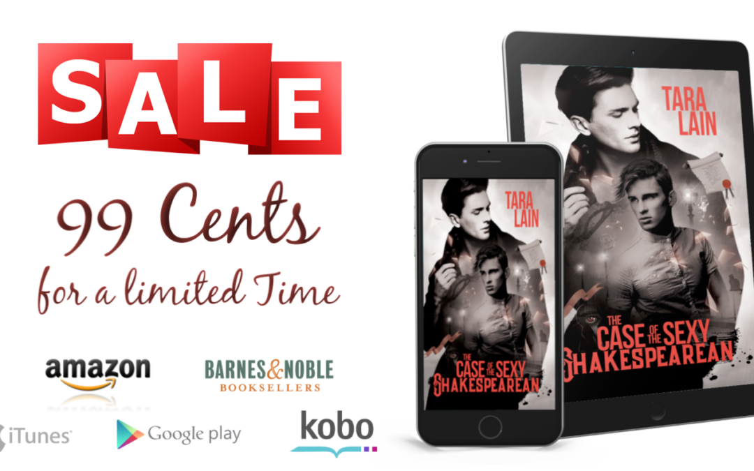 BookBub Special – Get The Case of the Sexy Shakespearean for $0.99!