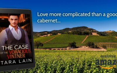 Cover Reveal! THE CASE OF THE VORACIOUS VINTNER by Tara Lain