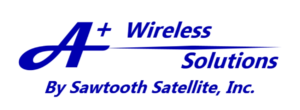 A+ Wireless by Sawtooth Satellite Logo