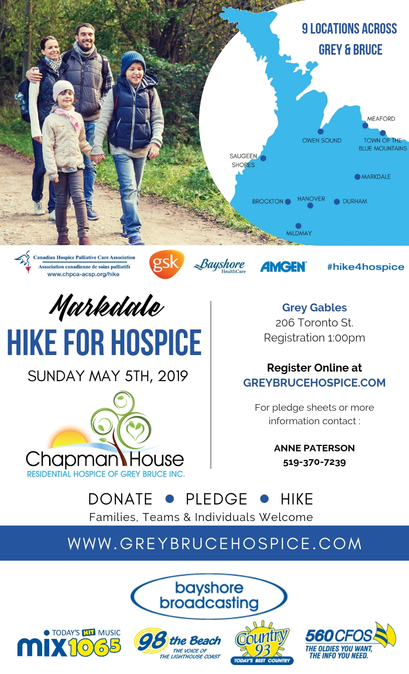 Hike For Hospice!