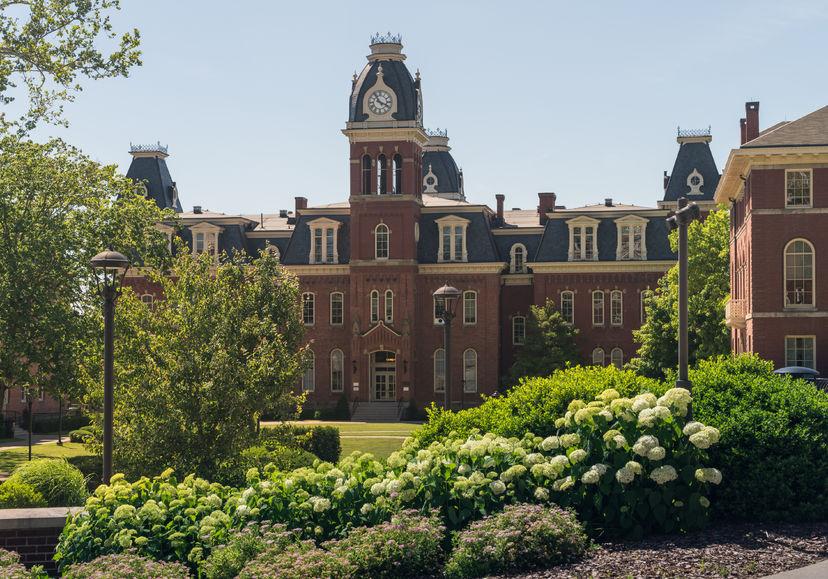 A Beautiful American College Campus