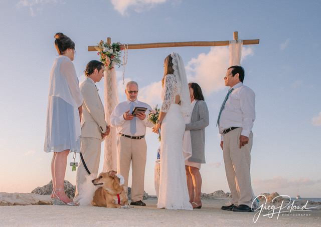 Wedding at Bayside Inn Key largo