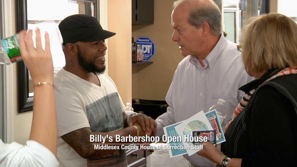 Opening of Billy's Barbershop in Lowell, MA