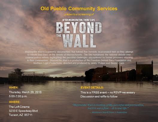 Old Pueblo Community Services Tuscon AZ screening