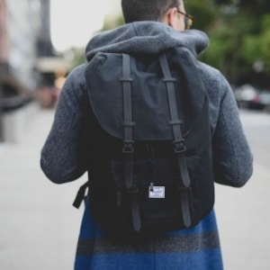 How To Wear A Herschel Little America Backpack