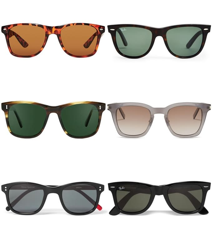Complete Guide To Sunglasses Styles - Wayfarers