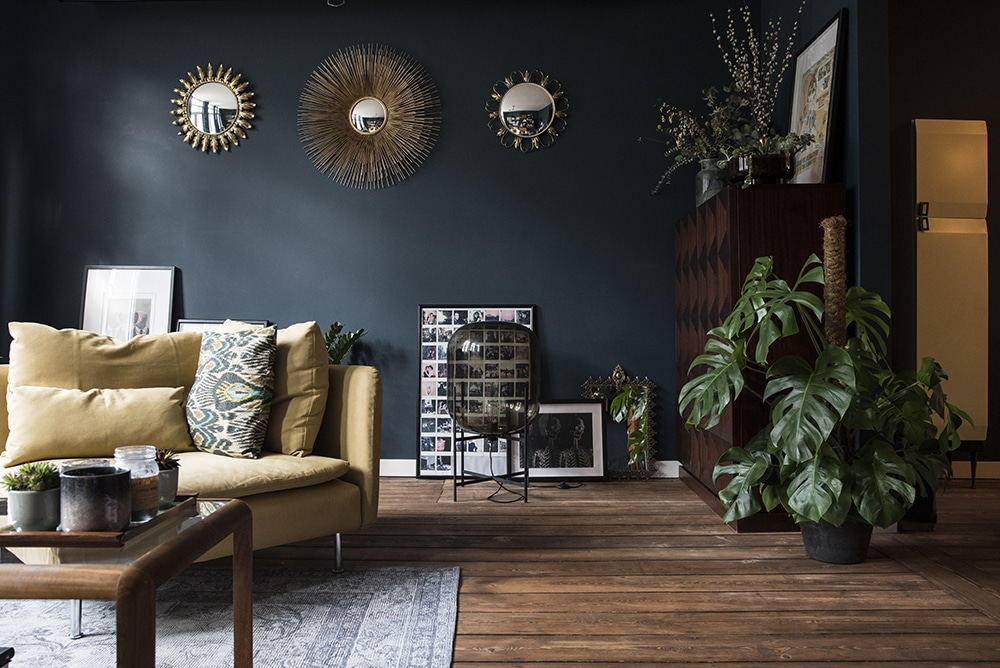 Rooms with Moody Color Schemes - Decorating Ideas