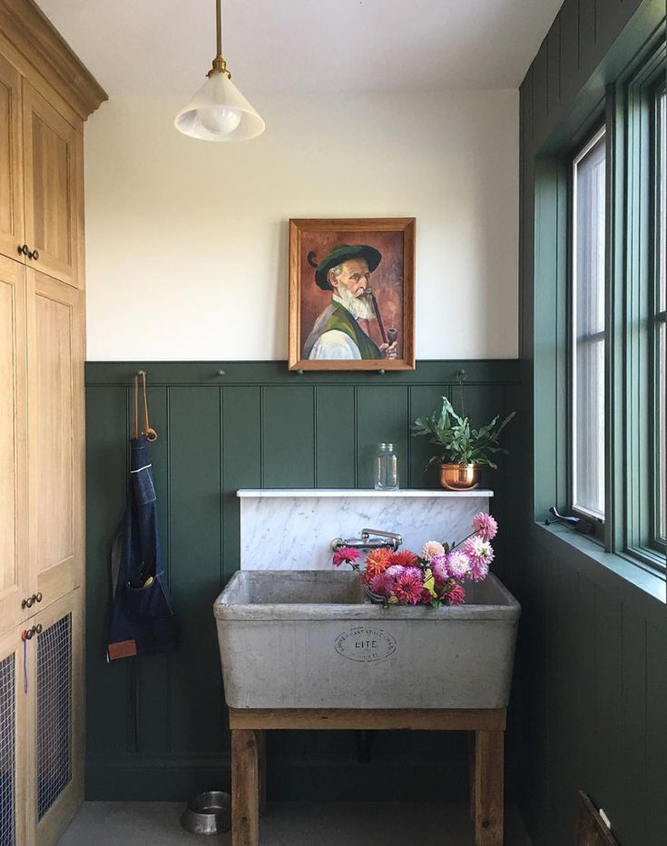 Rooms with Moody Schemes - A Vintage Palette