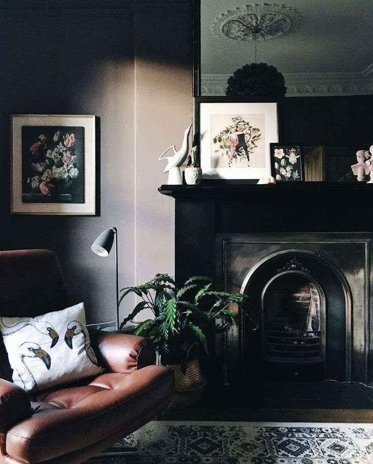 Rooms with Moody Schemes - Don't Shy Away From Black