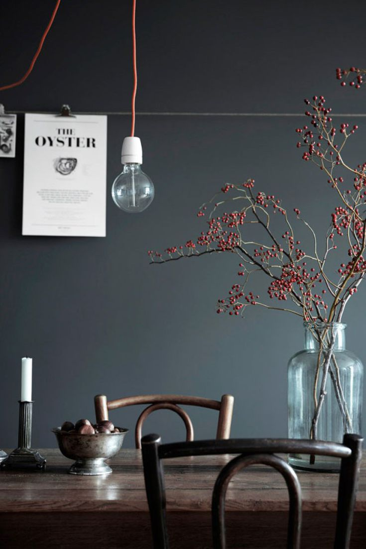Rooms with Moody Schemes - Mix in Modern Plants