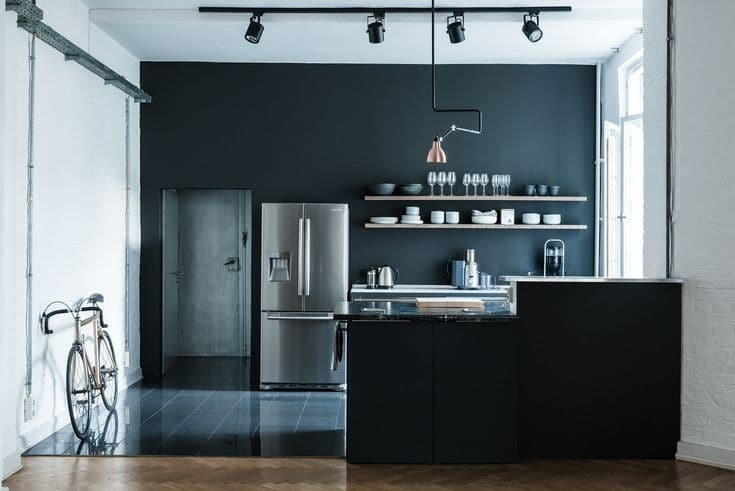 Rooms with Moody Schemes - Moody and Modern