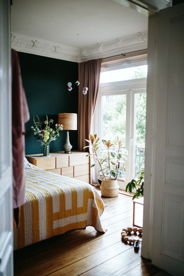 Rooms with Moody Schemes - Take Advantage of Natural Light